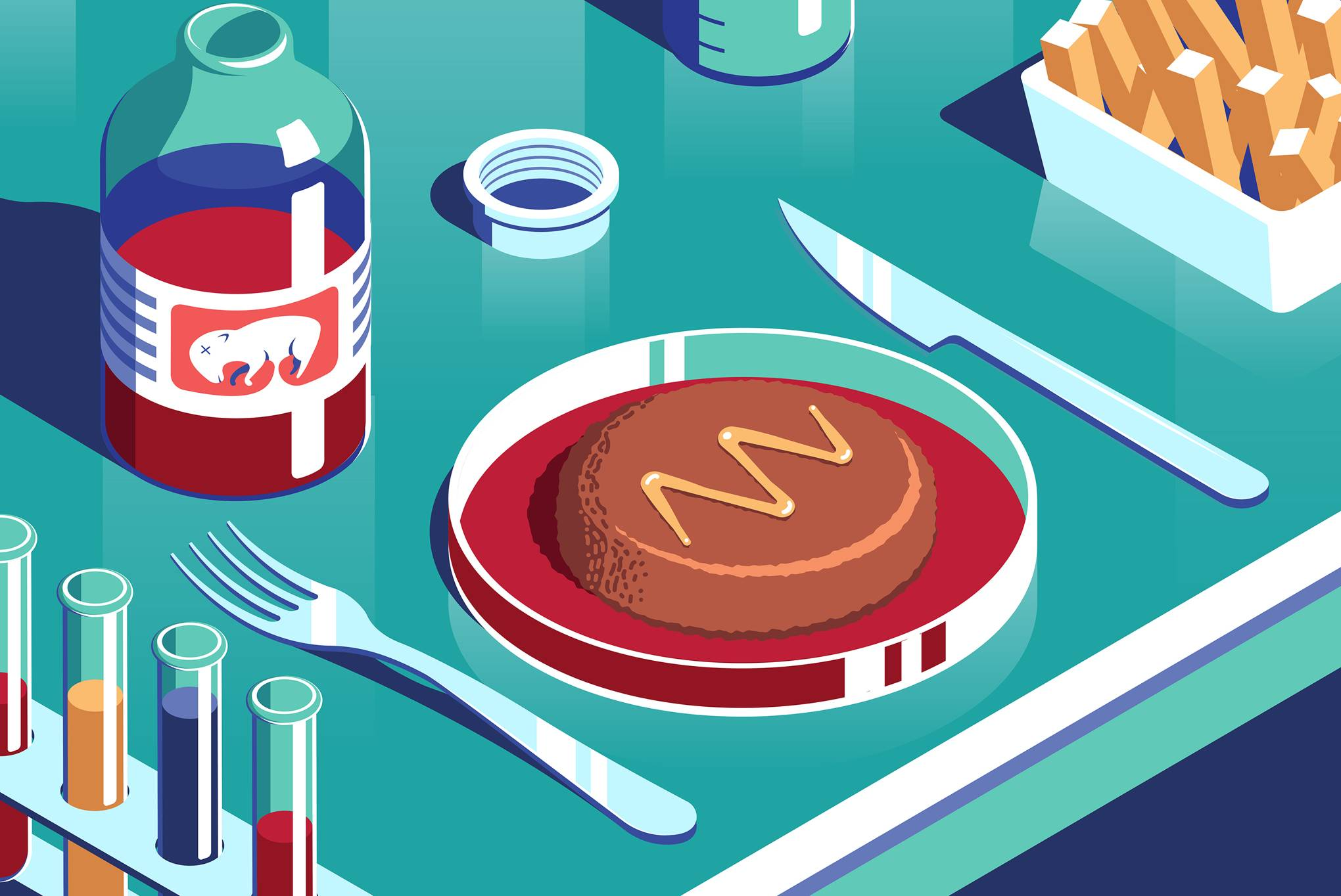 Clipart lab grown meat stock The clean meat industry is racing to ditch its reliance on foetal ... stock