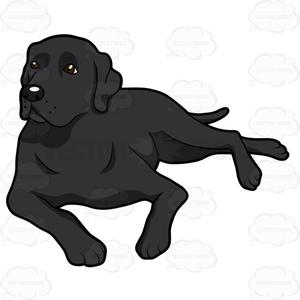 Clipart labador image royalty free download Free Black Labrador Clipart | Free Images at Clker.com - vector clip ... image royalty free download