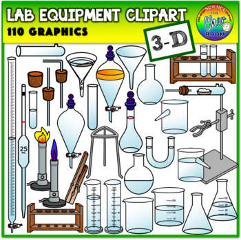 Laboratory equipment clipart clip library library Lab Equipment Clipart (3 Dimensional) clip library library