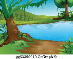 Lakes clipart clip royalty free download Lake Clip Art - Royalty Free - GoGraph clip royalty free download