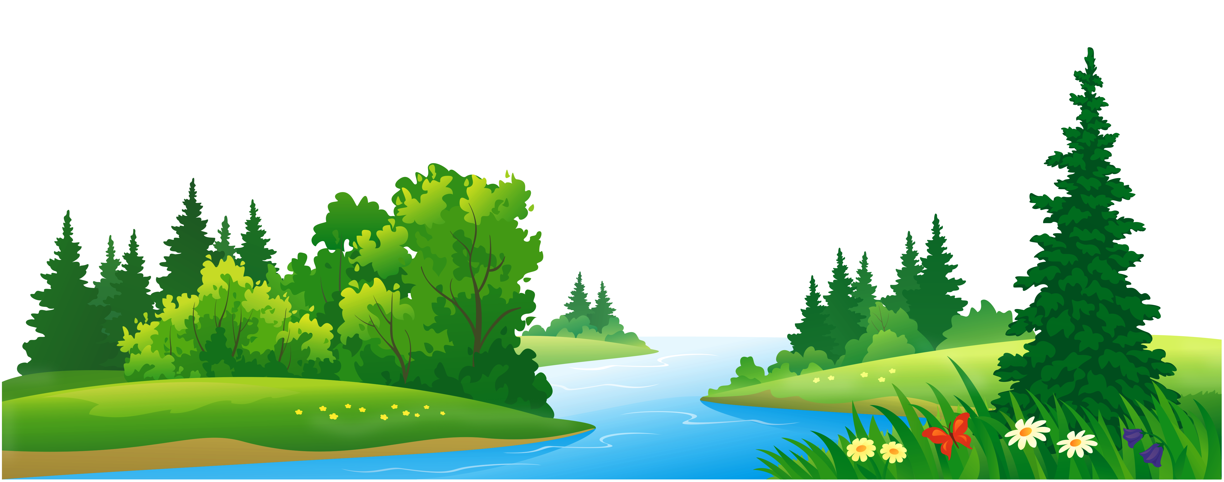Cartoon lake clipart jpg royalty free stock Grass Lake and Trees Transparent PNG Clipart | Gallery Yopriceville ... jpg royalty free stock