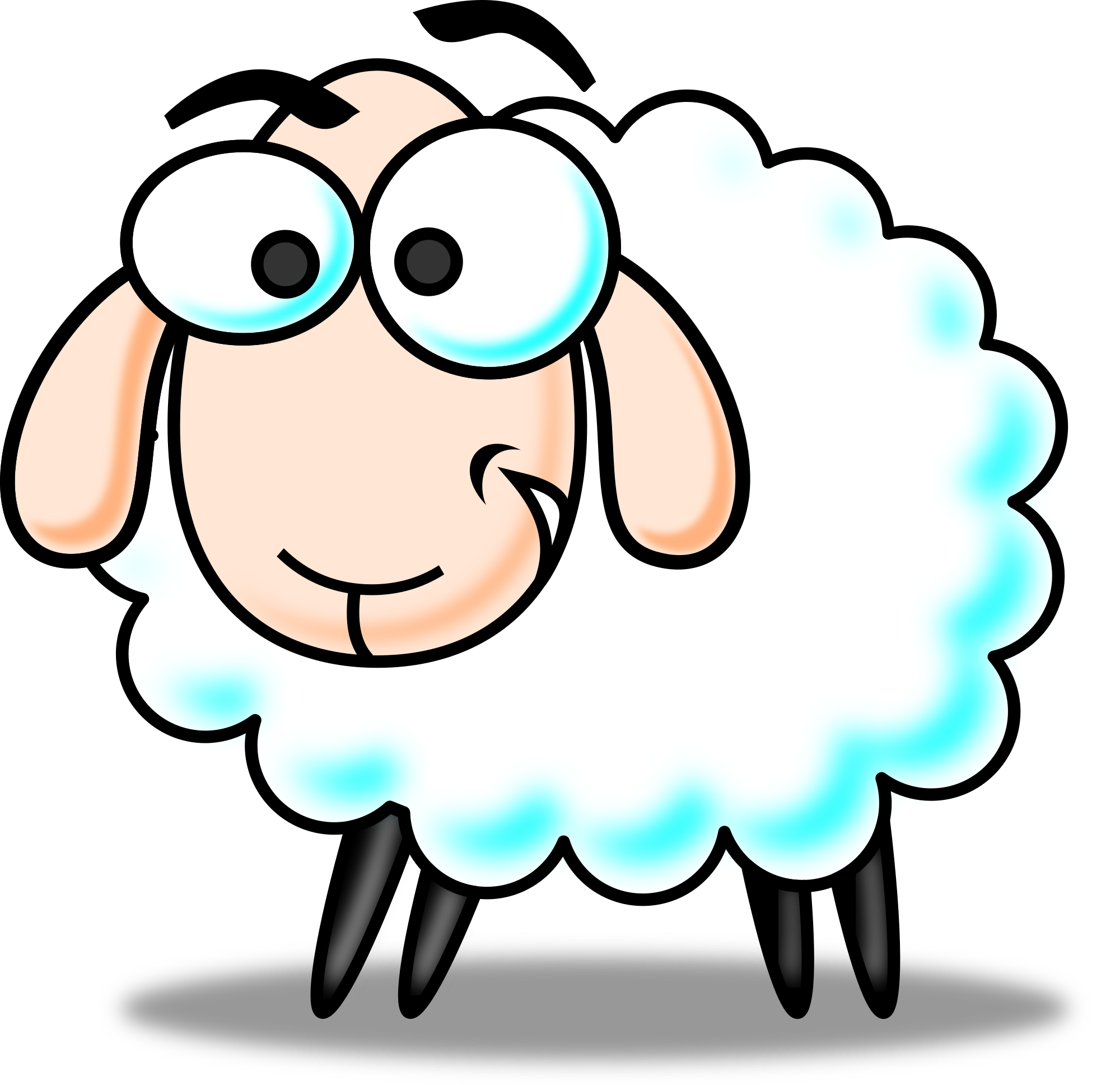 Clipart lambs jpg royalty free download Free Lamb Clip Art Pictures - Clipartix jpg royalty free download