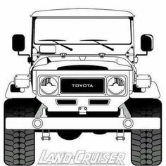 Clipart landcruiser svg transparent library 124 Best Land Cruiser Artwork images in 2018 | Land cruiser, Toyota ... svg transparent library