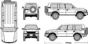 Clipart landcruiser image black and white download mr-clipart image black and white download