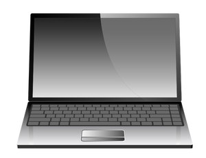 Computer laptop clipart picture freeuse stock 2086 free clipart laptop computer | Public domain vectors picture freeuse stock