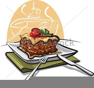 Clipart lasagna