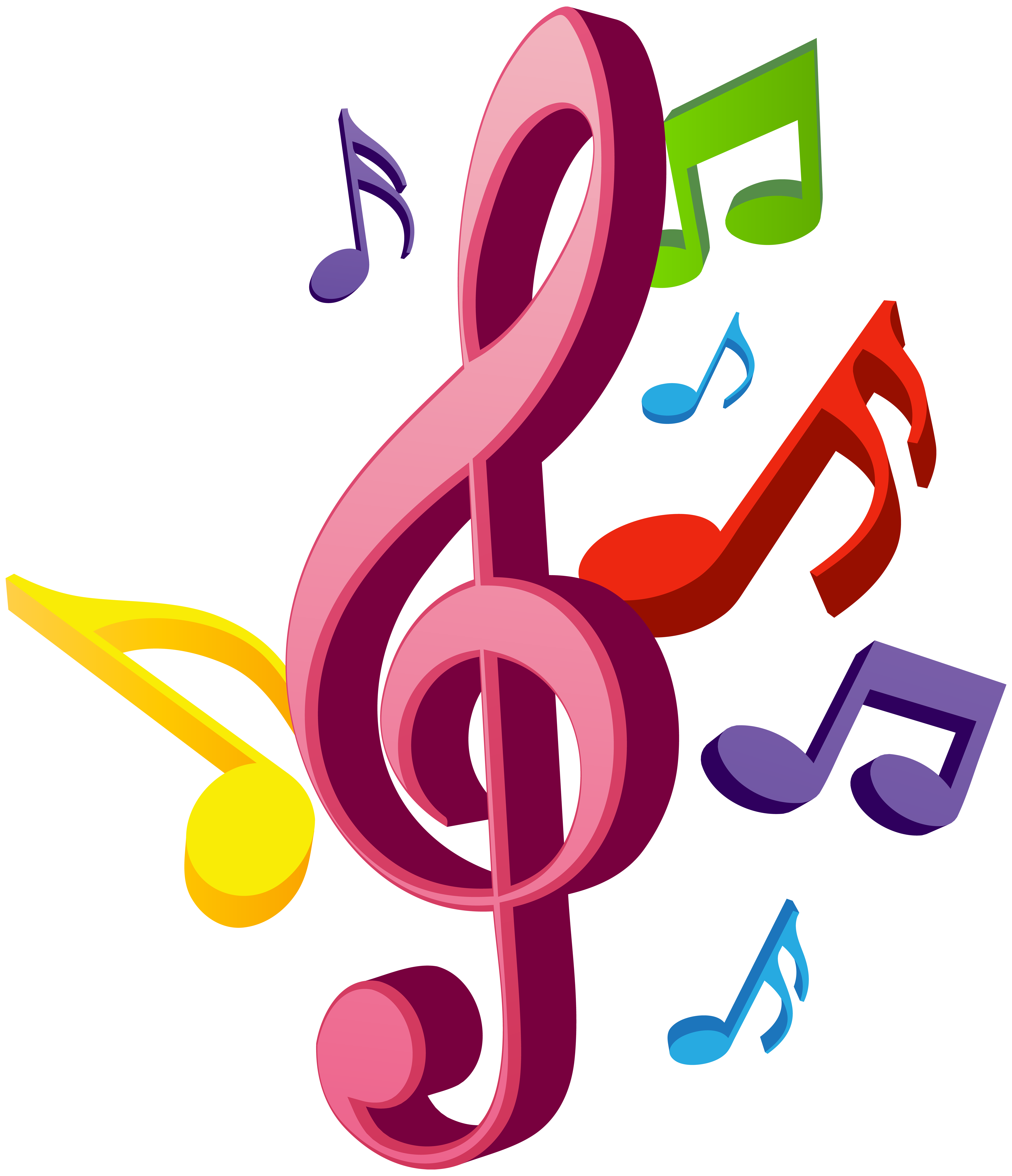 Music Notes PNG Clip Art | Gallery Yopriceville - High-Quality ... freeuse download
