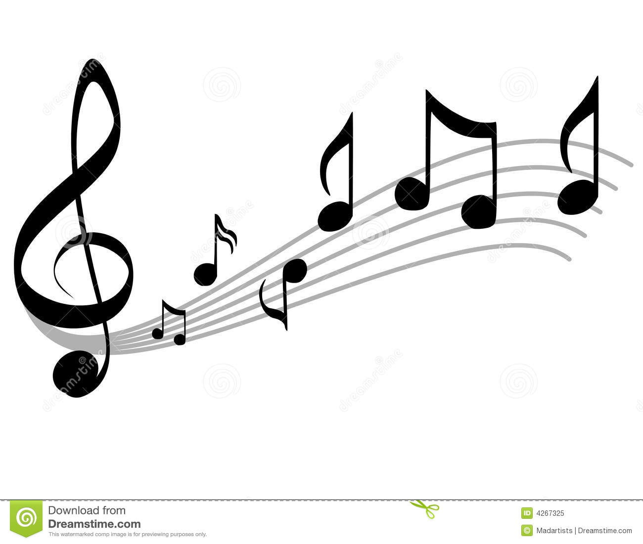 Free black and white music clipart banner freeuse library Music Clipart Free Download | Free download best Music Clipart Free ... banner freeuse library
