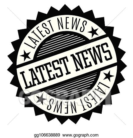 Clipart latest news banner download Vector Stock - Latest news rubber stamp. Clipart Illustration ... banner download