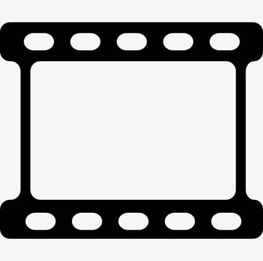 Clipart latest video clips png black and white download Video Clips PNG, Clipart, Black, Black And White, Bottom, Cartoon ... png black and white download