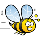 Clipart laughing bee royalty free library Clip Art Image Gallery | Similar Image: Bee Hornet Cartoon Vector ... royalty free library