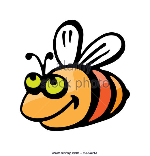 Clipart laughing bee banner royalty free stock Black White Drawing Bumblebee Stock Photos & Black White Drawing ... banner royalty free stock