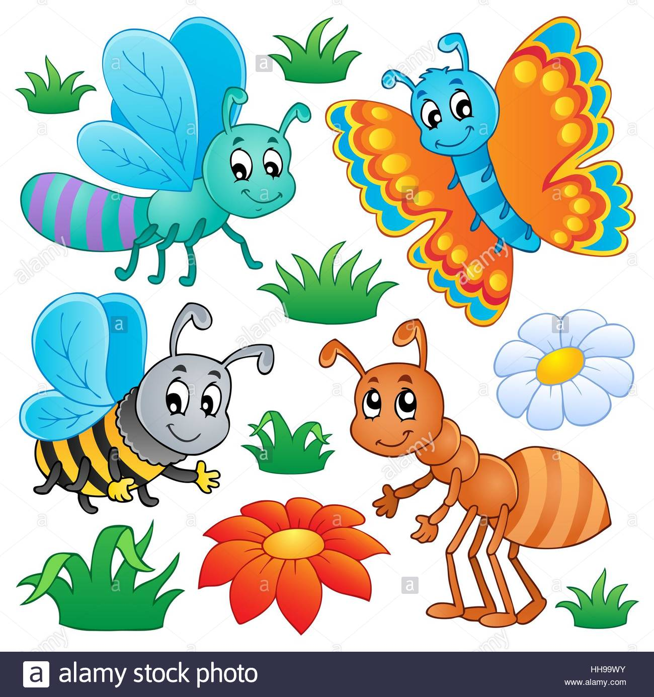 Clipart laughing bee jpg download Insect, Ant, Butterfly, Honeybee, Bug, Bugs, Bee, Laugh, Laughs ... jpg download