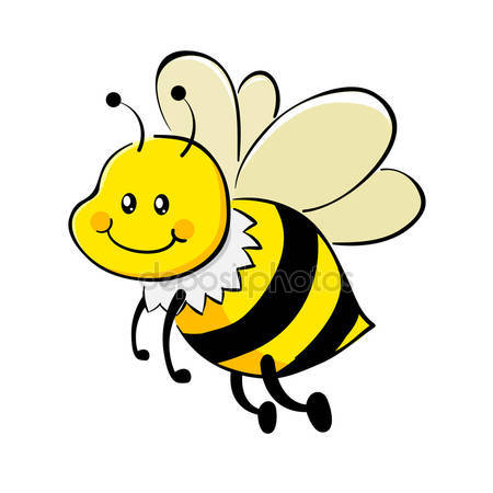 Clipart laughing bee clip art freeuse Honey bee character Stock Vectors, Royalty Free Honey bee ... clip art freeuse