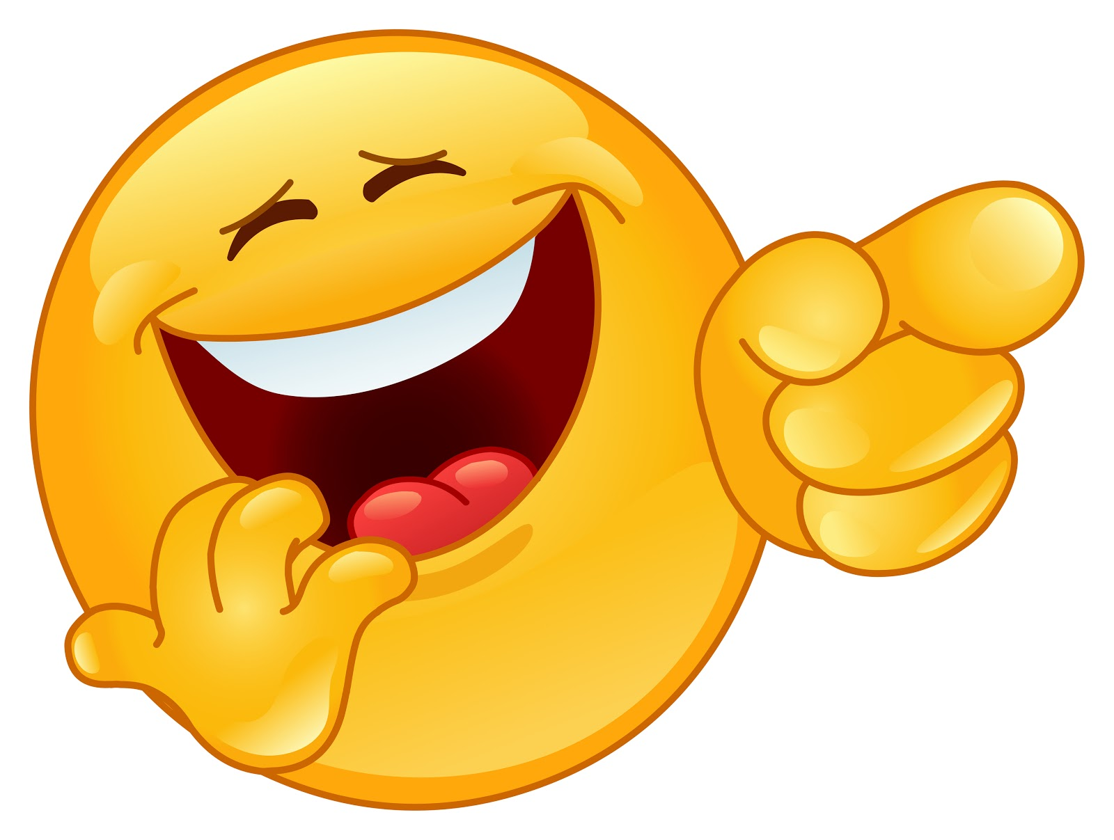 Clipart laughing face