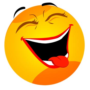 Clipart laughing face svg library download Laughing smiley face clip art - ClipartFest svg library download