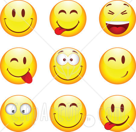 Clipart laughing face graphic free download Laughing smiley face clip art - ClipartFest graphic free download