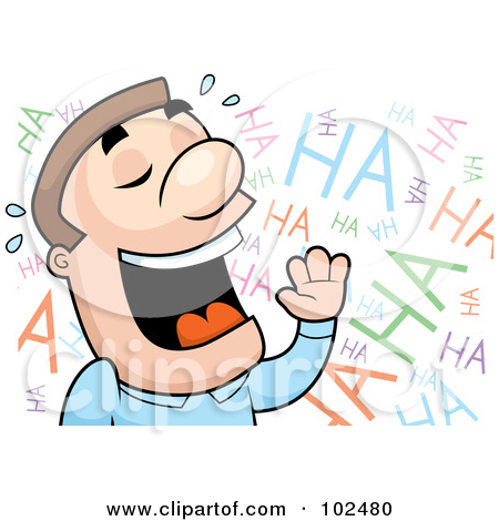 Clipart laughing people banner library stock Royalty-Free (RF) Laughing Man Clipart, Illustrations, Vector ... banner library stock