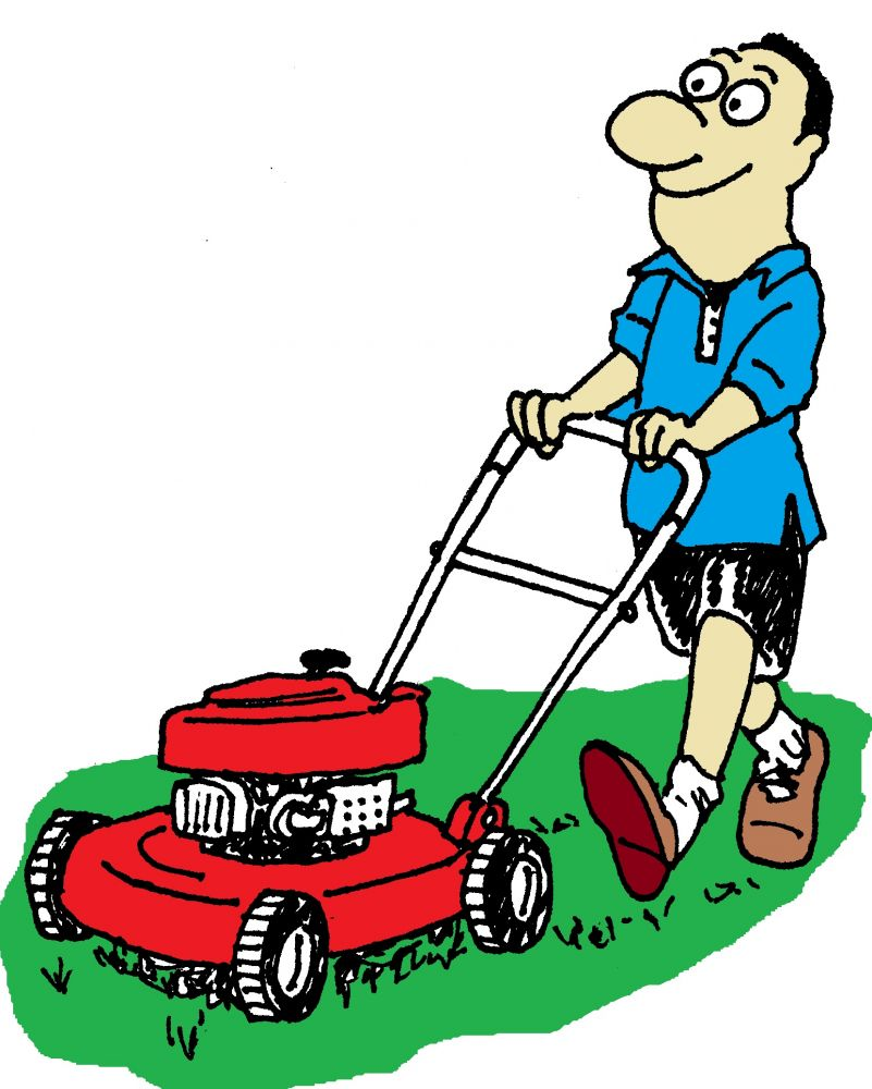 Lawnmowing clipart picture royalty free library Free Lawn Mowing Cliparts, Download Free Clip Art, Free Clip Art on ... picture royalty free library