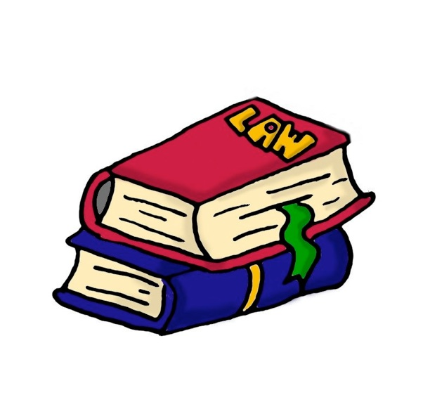 Law library clipart