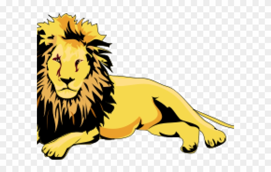 Clipart laydown banner free stock India Clipart Lion - Lion Laying Down Clipart - Png Download ... banner free stock