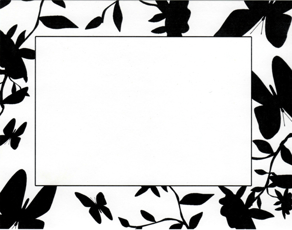 Clipart leaf black and white horizontal simple picture stock Free Black And White Borders, Download Free Clip Art, Free Clip Art ... picture stock