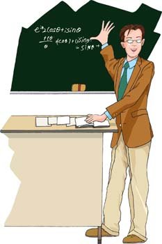 Lecturer clipart