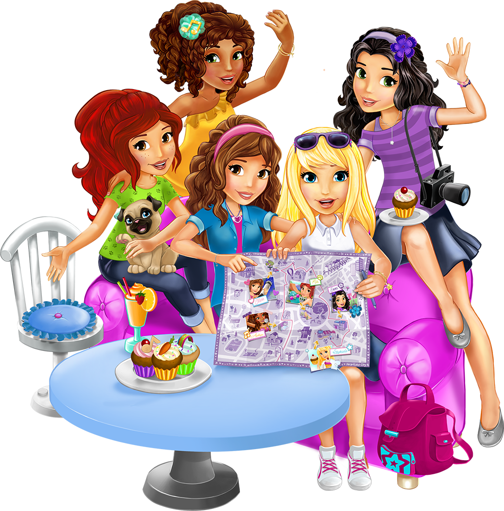 Clipart lego friends graphic black and white Let's be friends - Explore - LEGO® Friends™ - LEGO.com - Friends ... graphic black and white