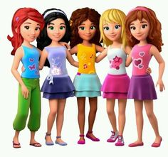 Clipart lego friends free stock Clipart lego friends - ClipartFest free stock