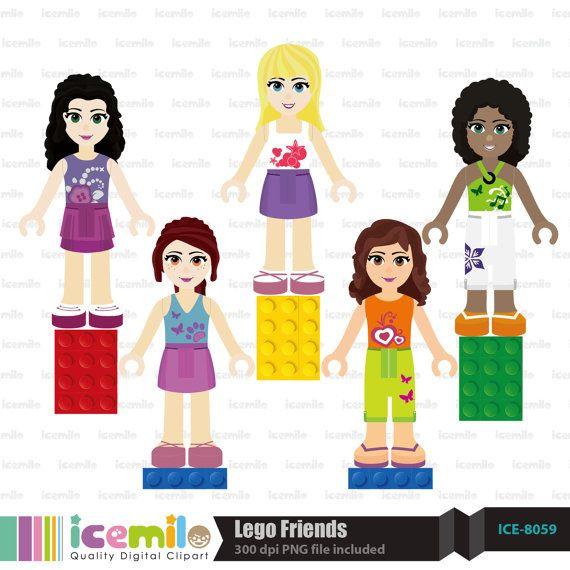 Clipart lego friends transparent download Lego Friends Clipart transparent download
