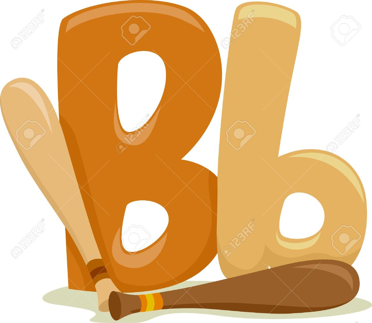 Clipart letter b b clipart freeuse download Illustration Featuring The Letter B Stock Photo, Picture And ... clipart freeuse download