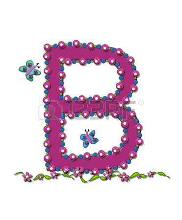 Clipart letter b b vector royalty free 440 Pink Letter B Stock Vector Illustration And Royalty Free Pink ... vector royalty free