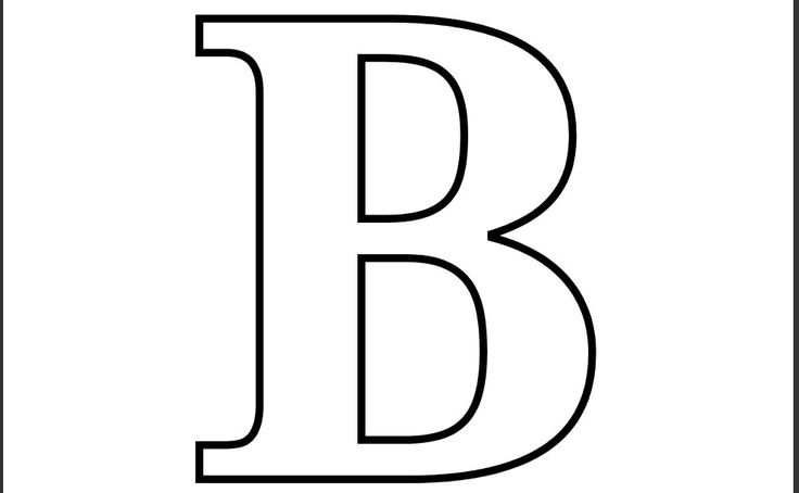 Clipart letter b b image library download Printable Letters | Free Download Clip Art | Free Clip Art | on ... image library download