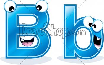 Clipart letter b b svg transparent download Letter bb clip art - ClipartFox svg transparent download