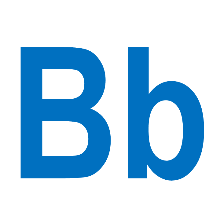 Clipart letter b b picture royalty free library The Letter B | Doodles and Jots picture royalty free library