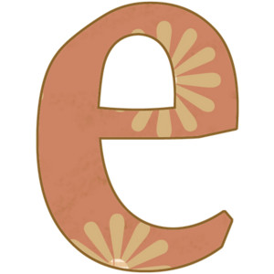 Clipart letter e red lower image royalty free Lowercase e clipart - ClipartFox image royalty free