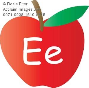 Clipart letter e red lower clip art free stock Letter e e clipart - ClipartFox clip art free stock