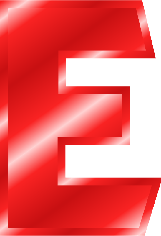 Clipart letter e red lower graphic library Free Clipart - 1001FreeDownloads.com graphic library