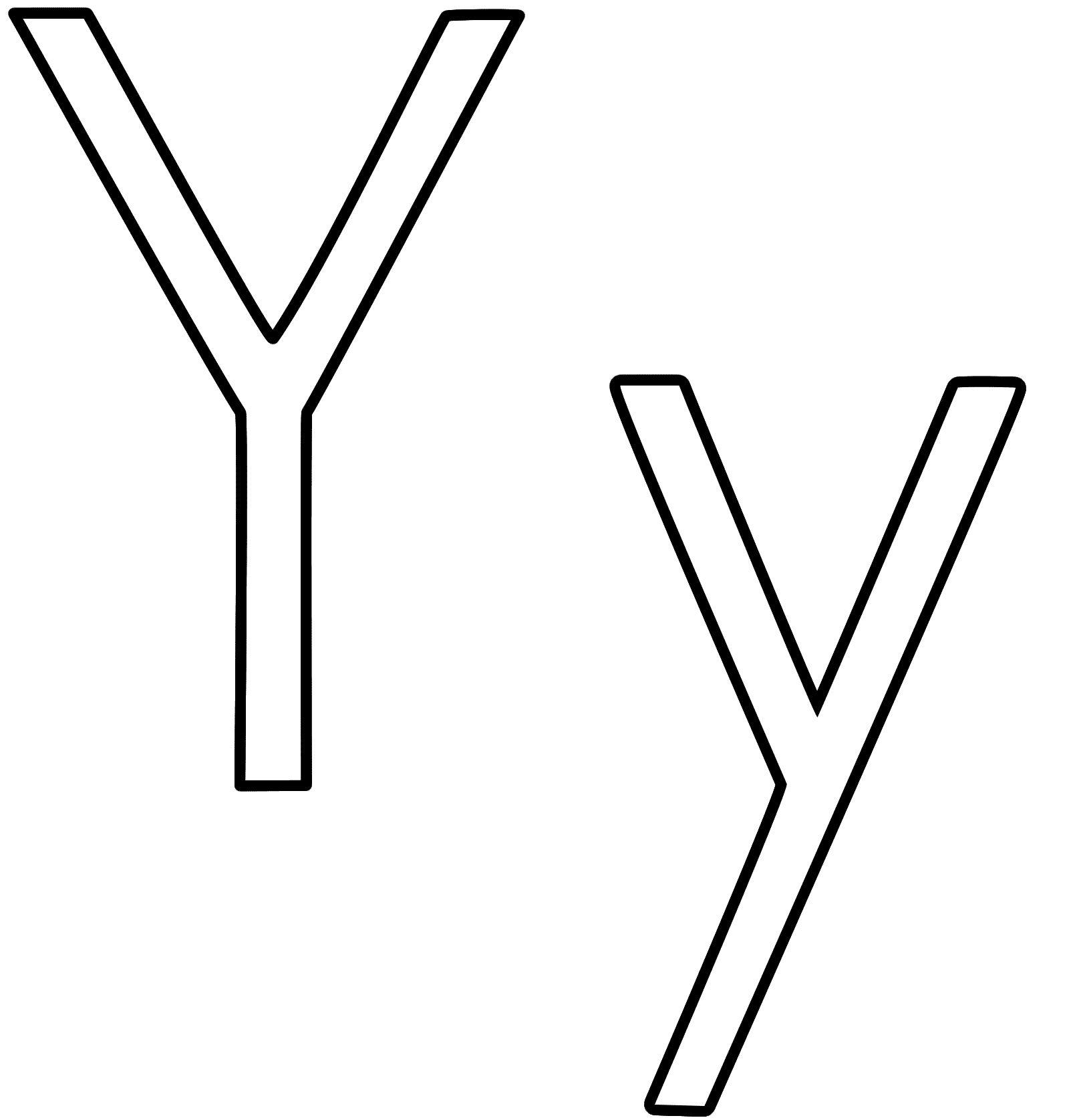 Y letter clipart black jpg transparent download Letter Y Clip Art Black And White | Phonics | Clipart black, white ... jpg transparent download