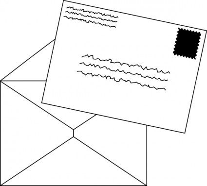 Clipart lettter clipart transparent Free Mail Letter Cliparts, Download Free Clip Art, Free Clip Art on ... clipart transparent