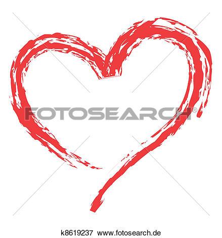 Clipart liebe. Herz gestalt f r