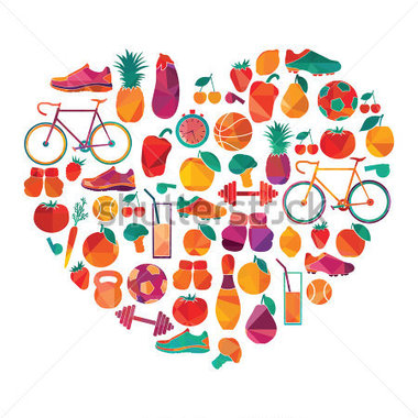 Healthy lifestyle clipart vector stock Free Healthy Lifestyle Clipart, Download Free Clip Art, Free Clip ... vector stock