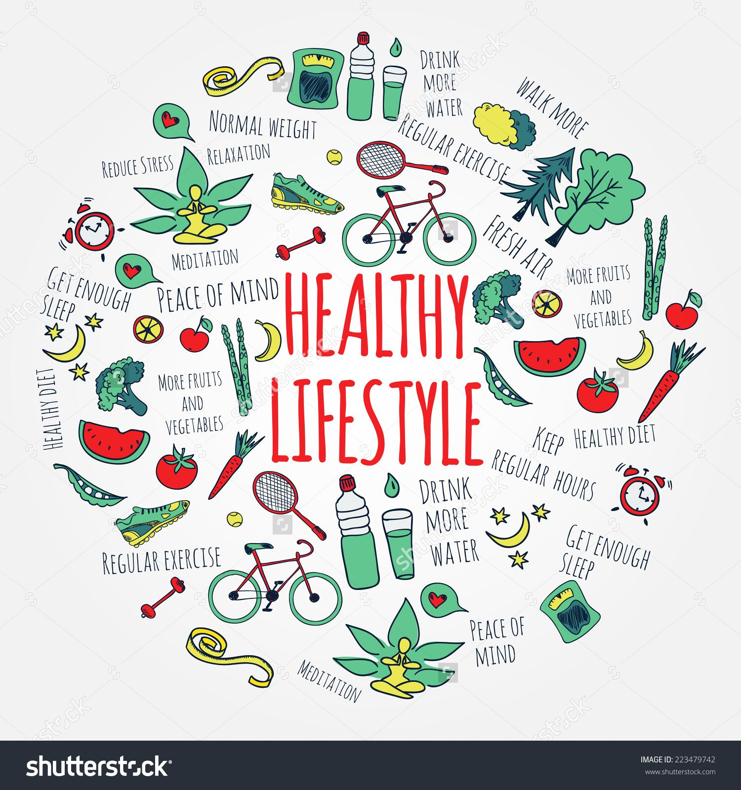 Healthy lifestyle clipart banner black and white download Healthy lifestyle clipart 7 » Clipart Station banner black and white download