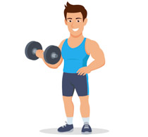 Clipart lifting weights graphic transparent download Sports Clipart - Free Weightlifting Clipart to Download graphic transparent download