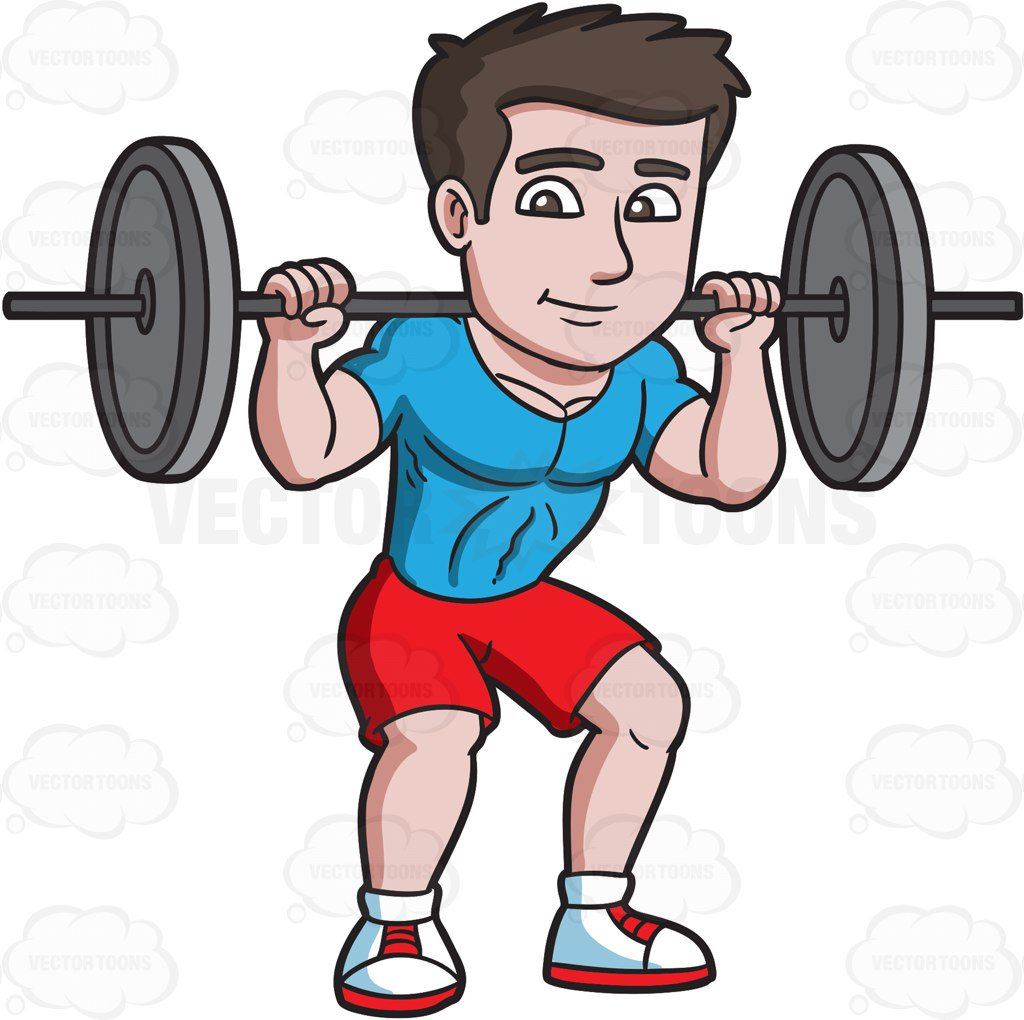 Clipart lifting weights picture free stock Man lifting weights clipart » Clipart Station picture free stock