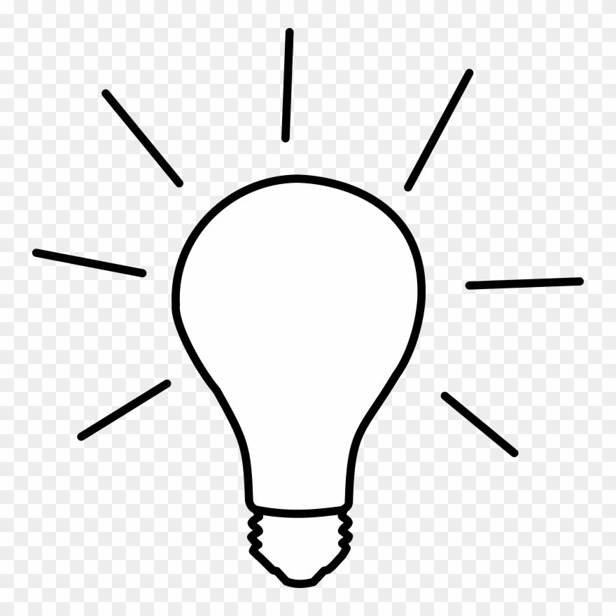 White lightbulb clipart vector transparent Lightbulb Idea Light Bulb Clip Art At Vector Clip Art - Light Bulb ... vector transparent