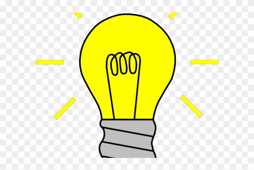 Lightbulb idea clipart vector library library Idea Clipart Lighting Bulb - Light Bulb Off Clipart, HD Png Download ... vector library library
