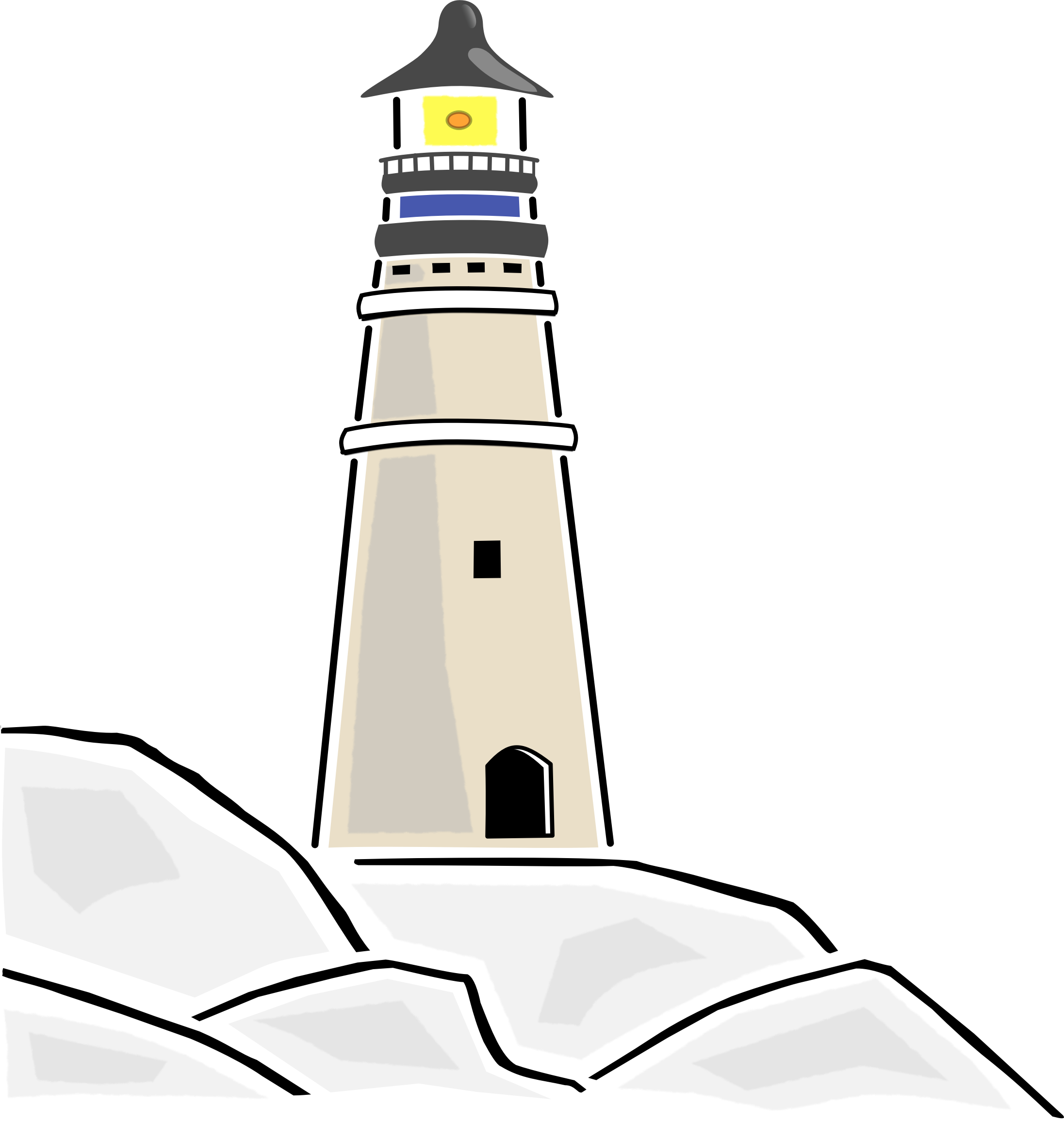 Clipart lighthiuse graphic freeuse Free Lighthouse Cliparts, Download Free Clip Art, Free Clip Art on ... graphic freeuse