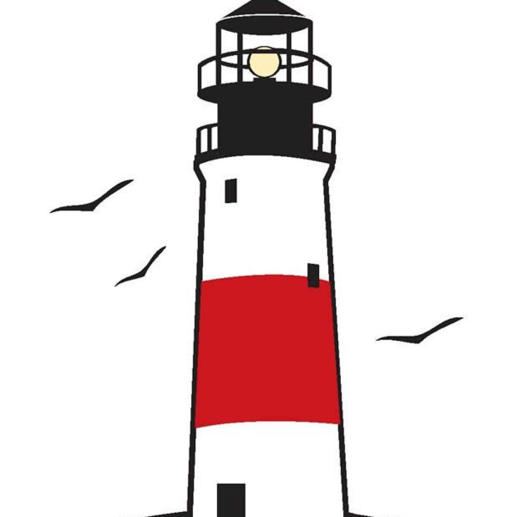 Clipart lighthiuse vector freeuse library Free lighthouse clipart 2 » Clipart Station vector freeuse library