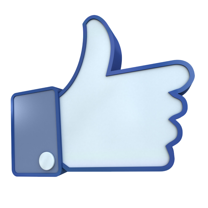 Facebook like clipart clip art royalty free Facebook Like 3d Clipart clip art royalty free
